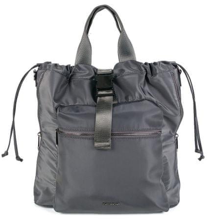 Emily & Noah kabelka Suza-Nylon 61941 tmavě šedá