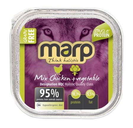 Marp Mix tasak csirke + zöldség 16 x 100 g