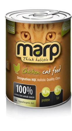 Marp Chicken karma mokra dla kotów z kurczakiem 6 x 400 g