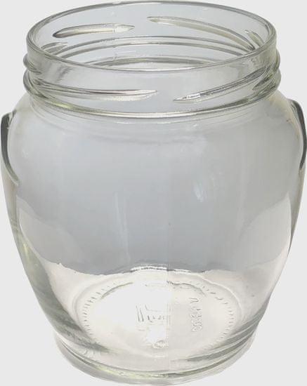 Marex Trade Zaváracie poháre TWIST amfora s viečkom zelenina, 6 x 550 ml