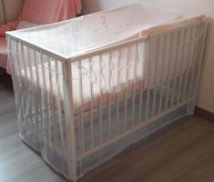 DBB Remond Siatka przeciw owadom na łóżeczko 120x60 cm