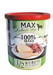 FALCO MAX deluxe 1/2 kurčaťa sa zverinou 800 g