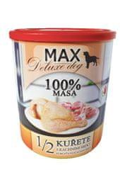FALCO karma dla psów MAX deluxe 1/2 kurczak z kaczymi sercami, 800 g