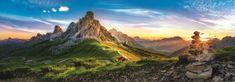 Trefl Panoramatické puzzle Passo di Giau, Dolomity 1000 dielikov