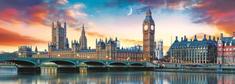 Trefl Panoramatické puzzle Big Ben a Westminsterský palác, Londýn 500 dílků