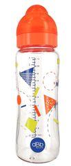 DBB Remond Dětská skleněná lahvička Geometrie 330 ml se širokým hrdlem