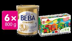 Nestlé BEBA Comfort 3 dojčenské mlieko - 6x800g