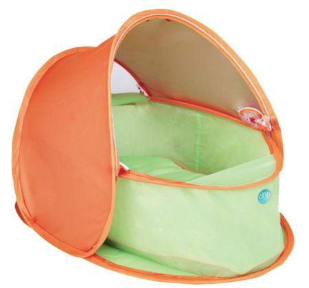 DBB Remond Cestovní hnízdo s ochranou UV oranžová/zelená