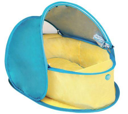 DBB Remond Cestovní hnízdo s ochranou UV žlutá/modrá