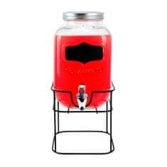 TORO karafka na napój 3,9L z metalowym stojakiem