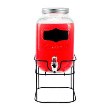 TORO Poháre na nápoj 3,9 l s kovovým stojanom