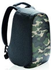 """XD Design Městský bezpečnostní batoh Bobby Compact Print 14"""", camouflage green P705.657"""