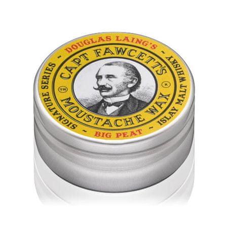 Captain Fawcett Bajusz viaszBig Peat Islay Malt Whisky (Moustache Wax) 15 ml