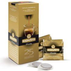Covim ESE pody káva Gold Arabica 25 porcií