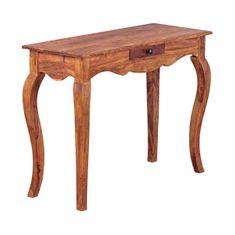 b0e554313ab64 Bruxxi Odkladací / konzolový stôl Opium, 100 cm, masív Sheesham