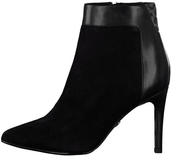 Tamaris dámska členková obuv 25305 37 čierna