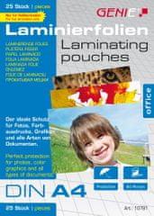 Genie  Laminovacie fólie A4 80 mic. 25 ks