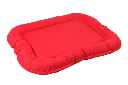 O´ lala Pets vzglavnik za pse, 124x94 cm, rdeč