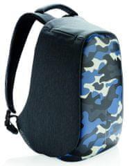 """XD Design Městský bezpečnostní batoh Bobby Compact Print 14"""", camouflage blue P705.655"""