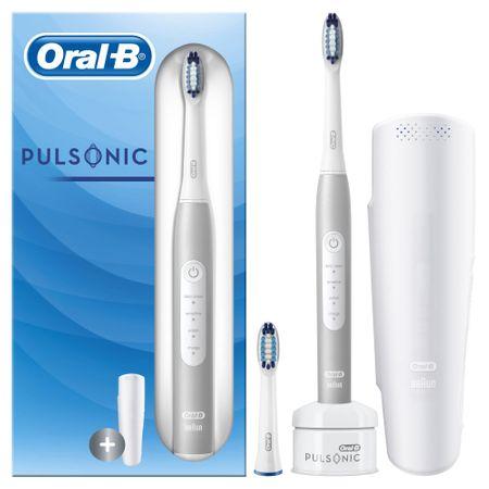 Oral-B Pulsonic Slim Luxe zobna ščetka 4200 White Ecom pack
