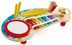 Hape wielofunkcyjny ksylofon z bębenkiem