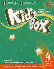 Nixon Caroline: Kid´s Box Level 4 Activity Book with Online Resources British English