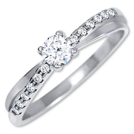 Brilio Silver Ezüst eljegyzési gyűrű 426 001 00541 04 (Kerület 50 mm-es) ezüst 925/1000