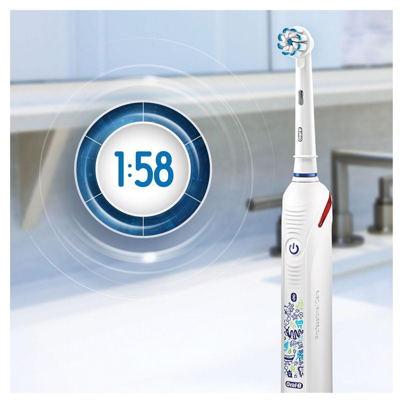 Oral-B Junior Smart White (Smart 4 tech) časovač