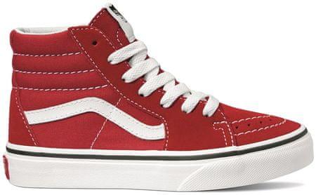 Vans dekliški čevlji UY SK8-Hi Racing Red/True White, 27