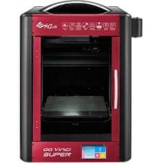 XYZprinting da Vinci Super 3D tiskalnik, rdeč