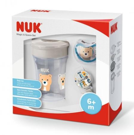 Nuk Magic Cup&Space Set szett, neutrális