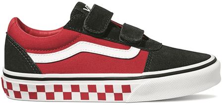 Vans otroški čevlji YT Ward V Checker Black/Red, 30