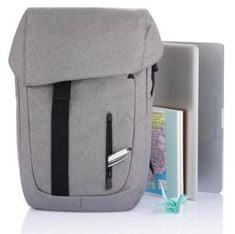 """XD Design Batoh na notebook Osaka 15,6"""", šedý P705.602"""