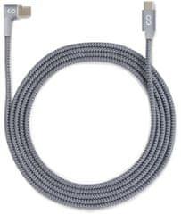 EPICO Mágneses töltő USB-C kábel EPICO 2m - szürke 9915101900013