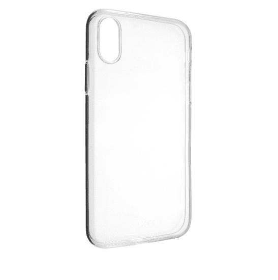Fixed TPU gélové puzdro pre Apple iPhone XS, číre FIXTCC-363