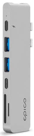 EPICO USB Type-C HUB PRO, silver