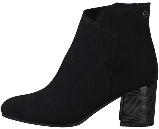 Tamaris dámska členková obuv 25393 36 čierna