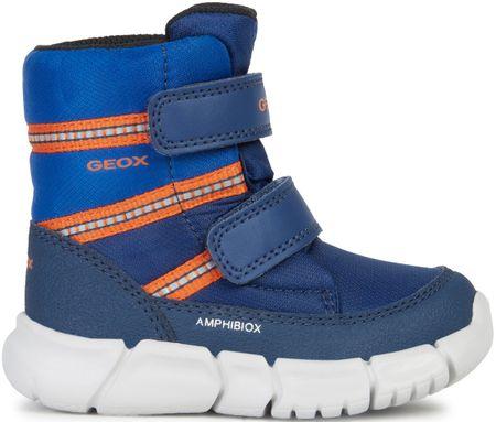 Geox fantovski zimski škornji Flexyper, 22, modri