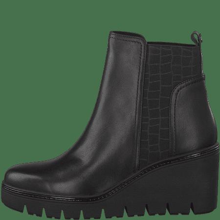Tamaris botki damskie 25430 36 czarne