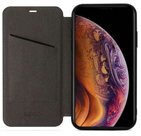 EPICO ovitek Flip Case with Magnetic Closure za iPhone XS Max, črn