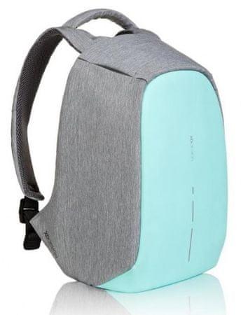 """XD Design miejski plecak z zabezpieczeniem Bobby Compact, 14"""", mentolowy P705.537"""