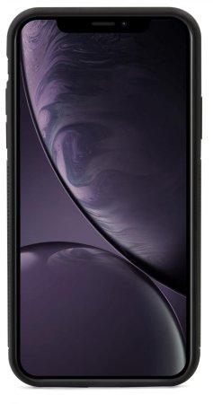 EPICO GLASS CASE dla iPhone XR - transparentny/czarny