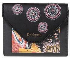 Desigual dámska čierna peňaženka Mone Guernica Lengueta Mini