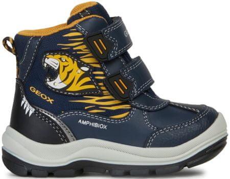 Geox Flanfil zimske cipele za dječake, 22, tamno plave