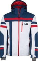 Kilpi Pánská zimní lyžařská bunda KILPI TITAN-M bílá (nadměrná velikost)