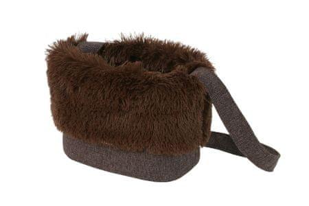 O´ lala Pets Luxury táska 32 cm barna