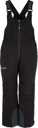 Kilpi Dětské zimní lyžařské kalhoty KILPI MIA-JG černá 134_140
