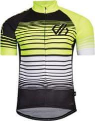 Dare 2b Pánsky cyklistický dres Dare2b AEP CLARIFY čierna / žltá