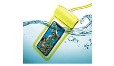 """Celly Univerzální voděodolné pouzdro CELLY Splash Bag 2019 pro telefony 6,5"""", žluté SPLASHBAG19YL"""