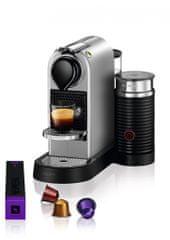 Nespresso Krups Citiz & Milk Silver XN761B10